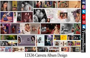 Canvera Album Design 12X36