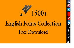 English Fonts Free Download