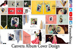 Canvera Album Cover Design