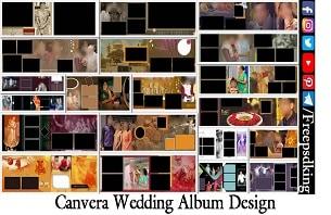 Canvera Wedding Album Design