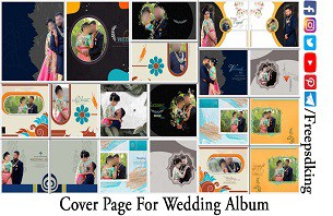 Cover Page For Wedding Album