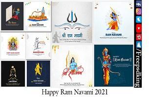 Happy Ram Navami Banner-Poster Design