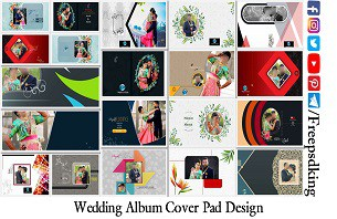 Wedding Album Cover Pad Design