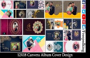Canvera Album Cover Design