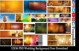 PSD Wedding Background