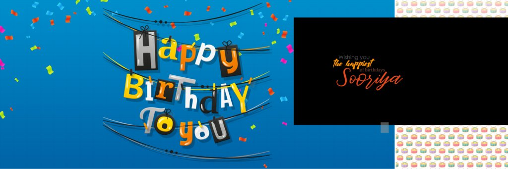 Birthday PSD Template Free Download