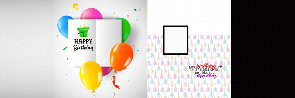 Birthday Album Design PSD Free Download 12X36 (2021)