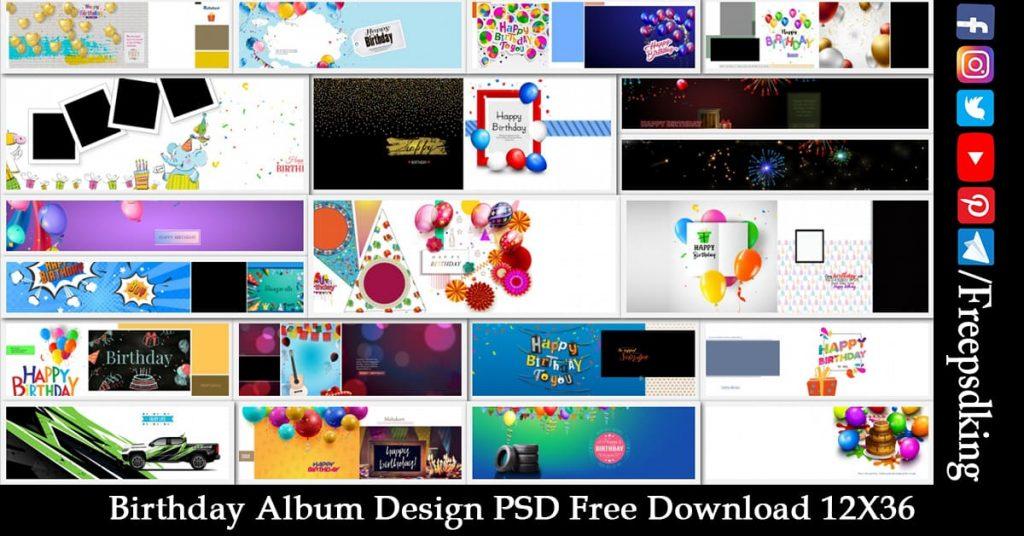 Birthday-Album-Design-PSD-Free-Download-12X36 2020