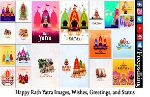 Happy Rath Yatra Images