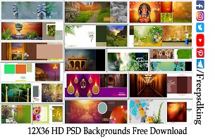 12X36 HD PSD Backgrounds Free Download