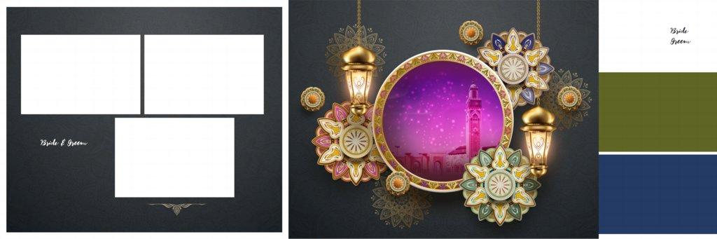 Muslim Wedding Album Design