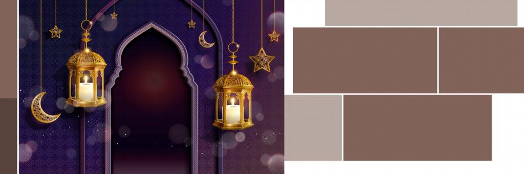 12X36 Muslim Wedding Album Design Free Download