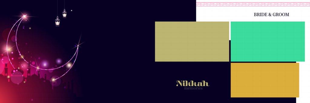 muslim wedding album design 12x36