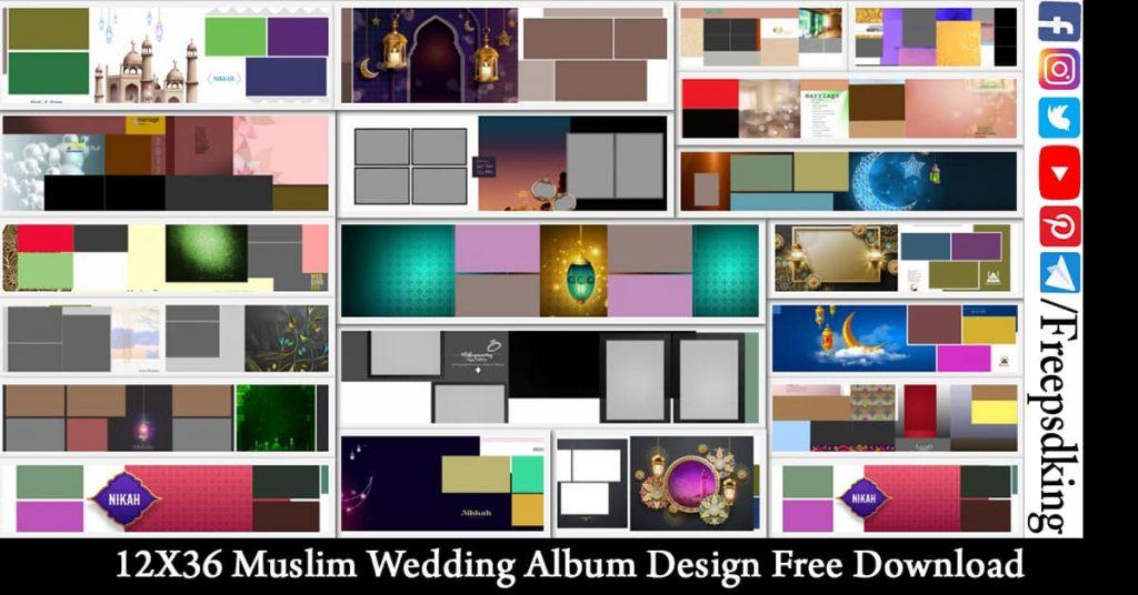 12X36-Muslim-Wedding-Album-Design-Free-Download