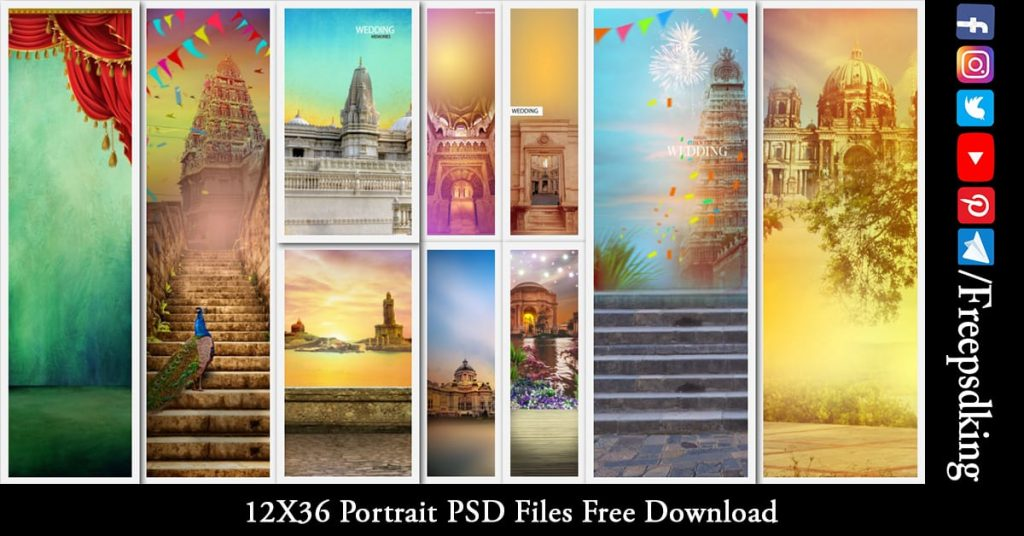 Portrait PSD Files Free Download