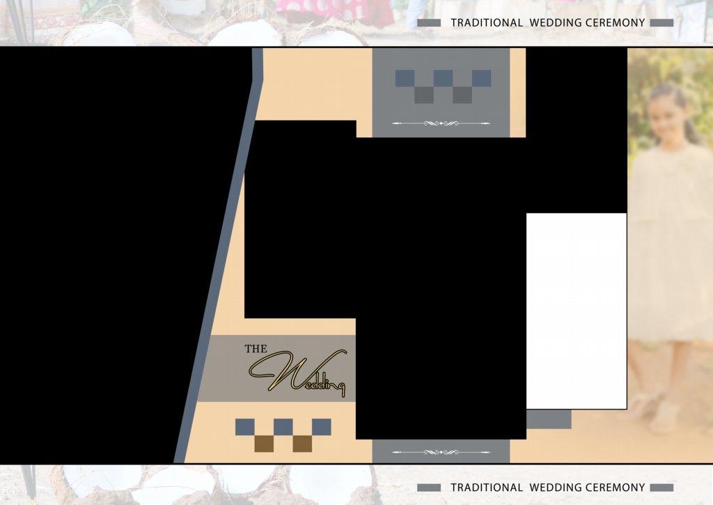 17X24 Wedding Album Design PSD Free Download