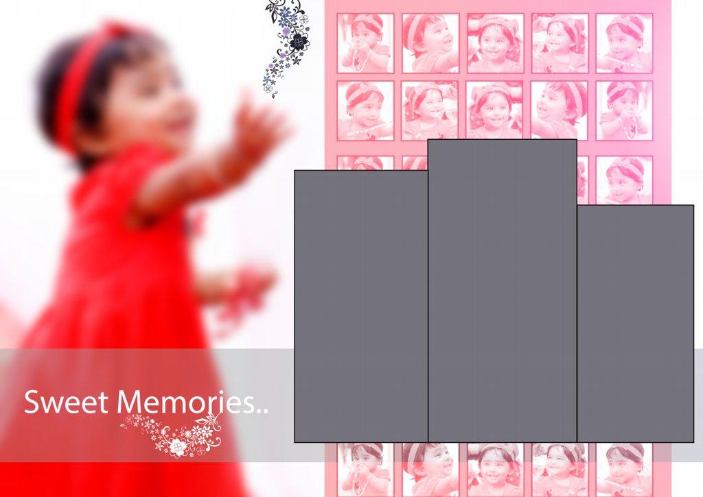 17X24 Album Design PSD Free Download
