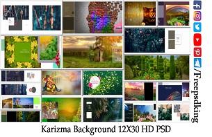 Karizma Background 12X30 HD PSD