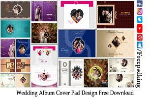 Wedding Album Cover Pad Design