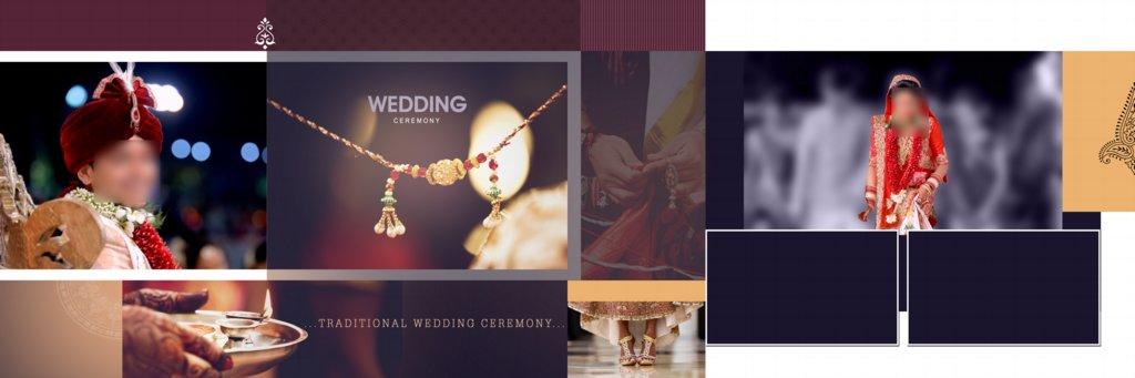 Wedding Album Design PSD Free Download 12X36 Zip