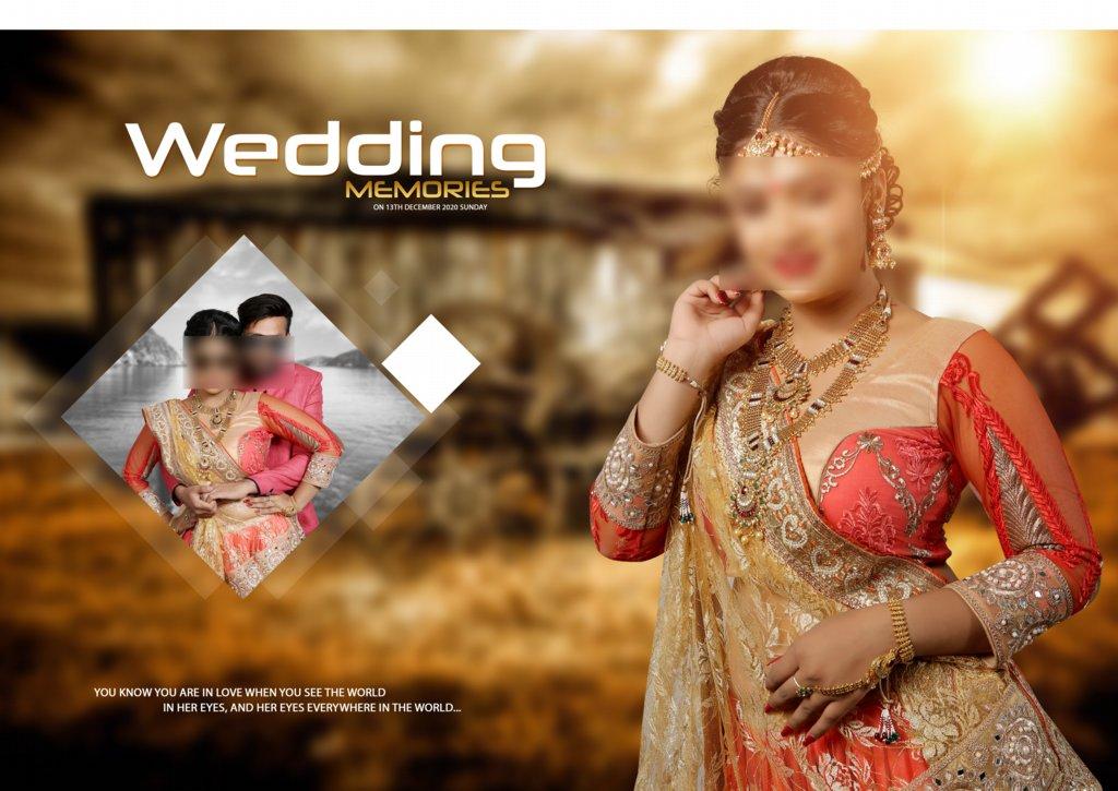 17X24 Wedding Album Design