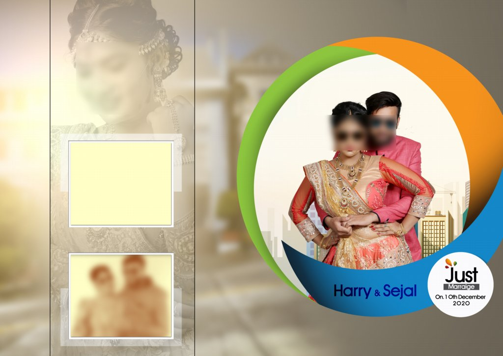 17X24 Wedding Album PSD