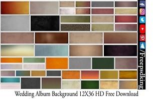 Wedding Album Background 12X36 HD